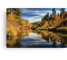 Susan River 10-28-12 Canvas Print