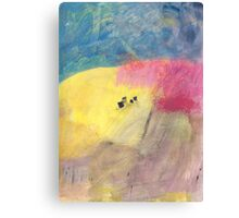 Tiny village Canvas Print