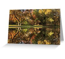 Sycamore Reflections Greeting Card