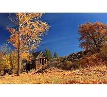The Old Bunkhouse Landscape Photographic Print