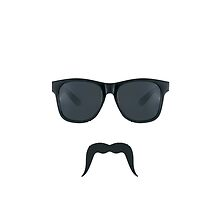 Moustache Iphone by JacksonSam