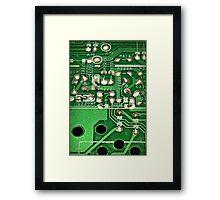 Poison Green Framed Print