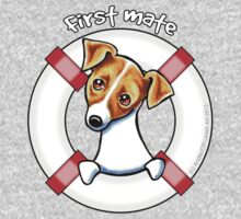 Jack Russell :: First Mate Kids Tee