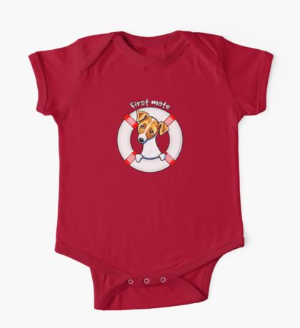 Jack Russell :: First Mate One Piece - Short Sleeve