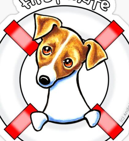 Jack Russell :: First Mate Sticker