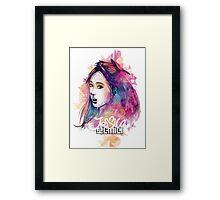 SNSD - Jessica Framed Print