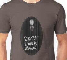 Slenderman | Don't look back Unisex T-Shirt