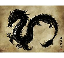 Japanese Dragon Photographic Print