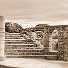 Minack Open Air Theatre. Cornwall by lynn carter