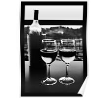 Flame Hill Vineyard Poster