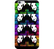 PANDA!monium - rainbow collage iPhone Case/Skin