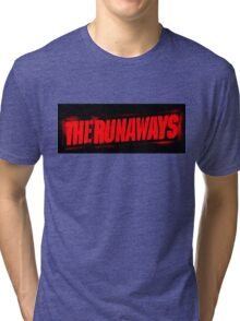 The Runaways Logo Tee Tri-blend T-Shirt