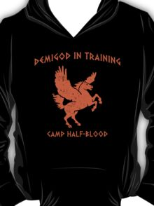 Demigod In Training T-Shirt