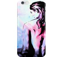 Mystery and contemplation  iPhone Case/Skin