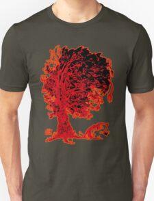 The tree - red redder orange T-Shirt