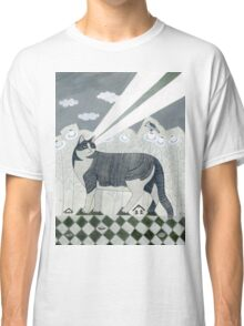 Beaming Cat Classic T-Shirt