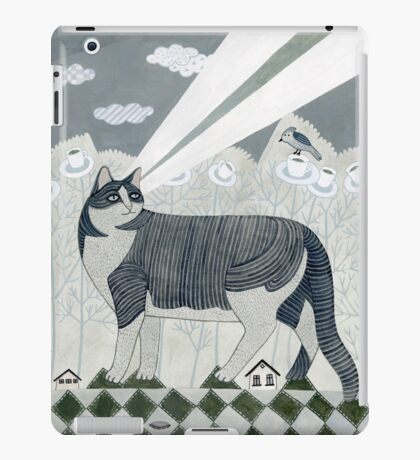 Beaming Cat iPad Case/Skin