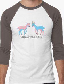 Transgendeer Design 4 Men's Baseball ¾ T-Shirt