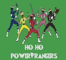 Ho Ho Power Rangers Baby Tee
