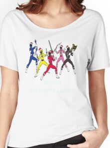 Ho Ho Power Rangers Women's Relaxed Fit T-Shirt