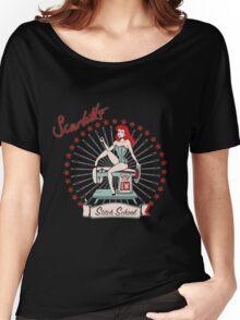 Scarlett's Stitch School Women's Relaxed Fit T-Shirt
