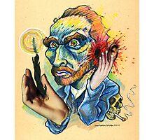 Van Gogh Caricature Photographic Print