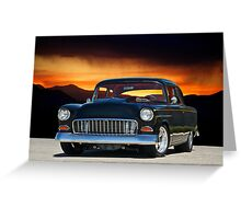1955 Chevrolet Coupe VI Greeting Card