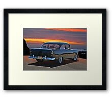 1955 Chevrolet Coupe I Framed Print