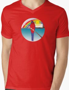 """Day 142   365 Day Creative Project  """"Rosella & Rainbow"""" Mens V-Neck T-Shirt"""