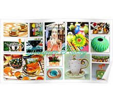 Designer Pottery Poster