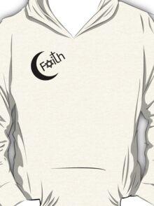 Faith - Black Graphic T-Shirt