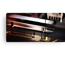 Night Bus Canvas Print
