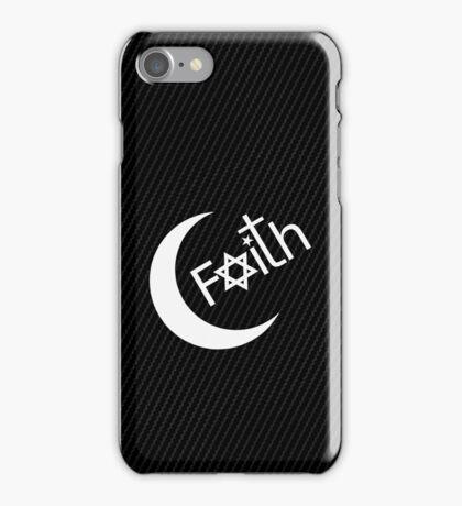 Faith - Carbon Fibre Finish iPhone Case/Skin