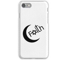 Faith - White iPhone Case/Skin