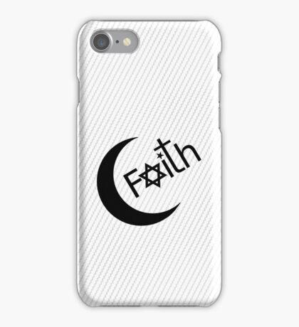 Faith - White iPhone Case/Skin