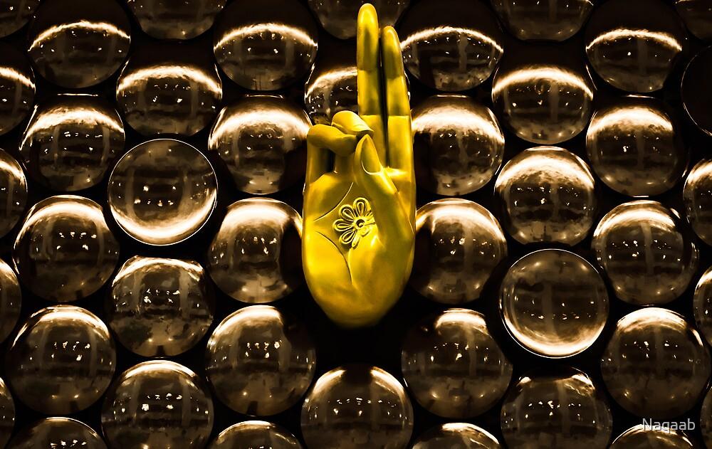 The Hand of Peace by Naqaab