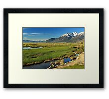 Job's Peak Carson Valley Framed Print