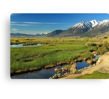 Job's Peak Carson Valley Canvas Print