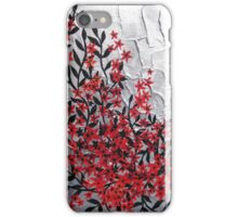 Red and black modern phone design iPhone Case/Skin