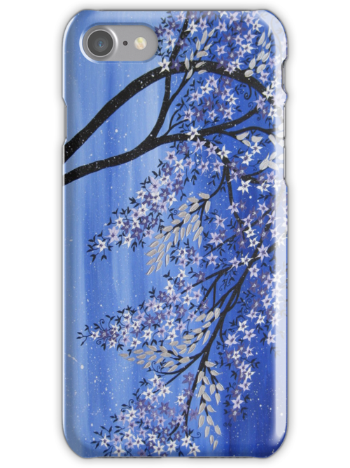 blue tree phone , ipod or ipad case or cover - cases / covers by cathyjacobs
