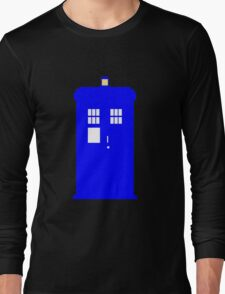 Police Box Long Sleeve T-Shirt
