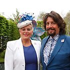 Laurence Llewelyn-Bowen with his wife by Keith Larby