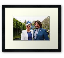 Laurence Llewelyn-Bowen with his wife Framed Print