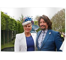Laurence Llewelyn-Bowen with his wife Poster