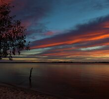 Sunrise over Bribie by Steve Bass