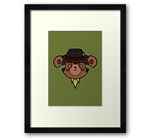 Party Pat Framed Print