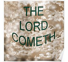 Lord Cometh Poster