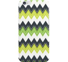 Retro zig zag case iPhone Case/Skin