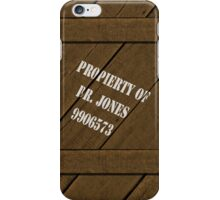 Property of Dr. Jones iPhone Case/Skin