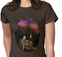 The angels are Falling Womens Fitted T-Shirt